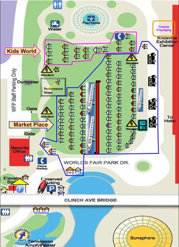 Festival Maps | Knox Asian Festival